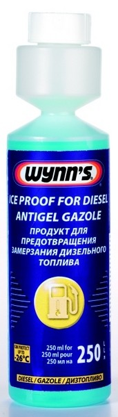ICE PROOF FOR DIESEL (concentrated) - Zimní přísada do nafty (koncentrát)